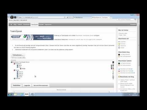Teamspeak 3: die Ersteinrichtung plus Serveranmeldung #2v4