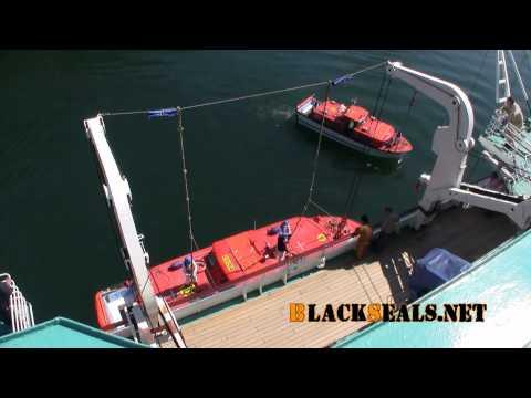 MS ALBATROS Inbetriebnahme Tenderboot