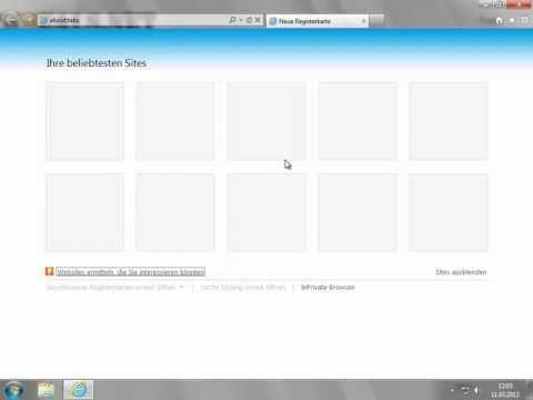 Internet Explorer 9 about-tabs Zeilen erhöhen