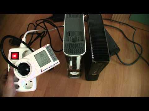 Xbox 360 S 250GB Energy Comparison