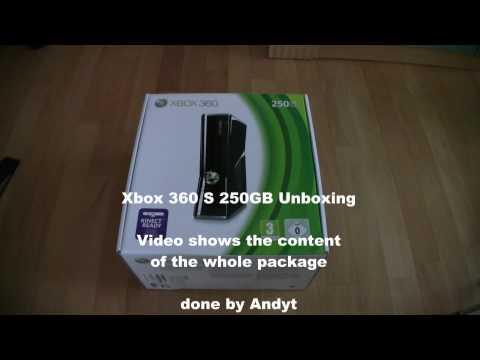 Xbox 360 S 250GB Unboxing