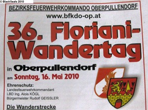 Read more about the article Floriani-Wandertag 2010 in Oberpullendorf