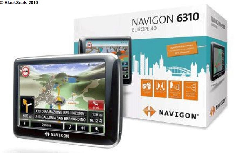Read more about the article Navigon 6310 Navigationssystem
