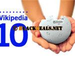 zehnjähriger feiert Jubiläum: Wikipedia ist 10