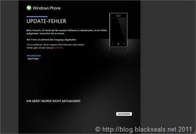 Read more about the article Warum Windows Phone 7 scheitern kann