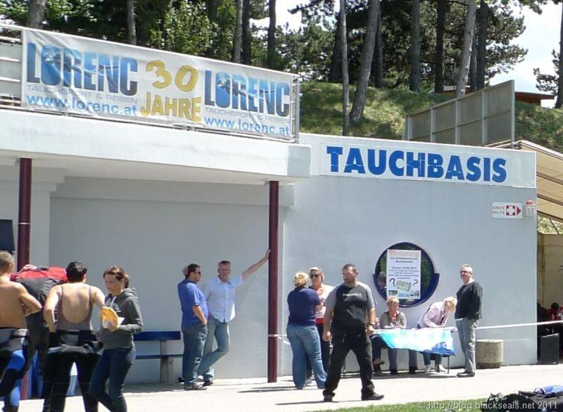 Read more about the article Schatzsuche 2011 von Tauchsport Lorenc am Neufelder See