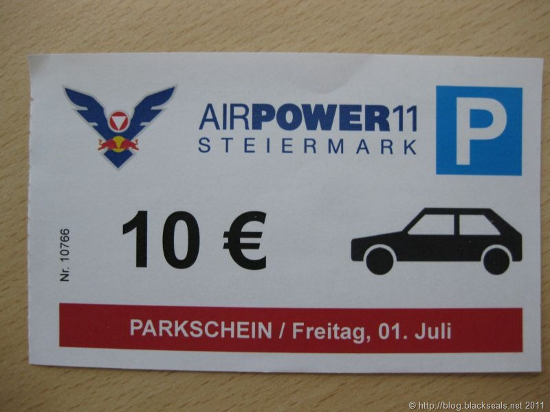 Read more about the article …das war die AIRPOWER 2011