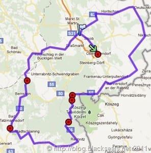 B-Roadster-Tour_2011_map