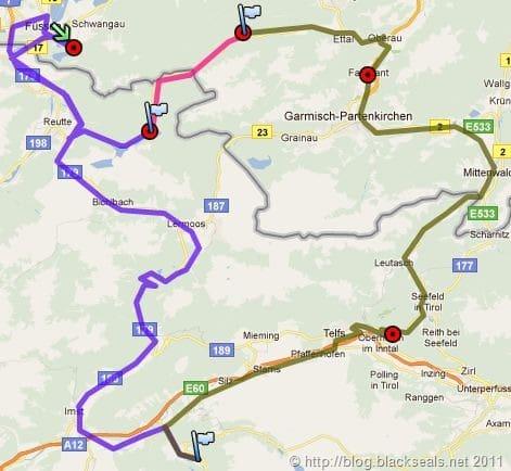 Read more about the article Der Pass ruft: Fernpass, Mittenwald und Schlösser