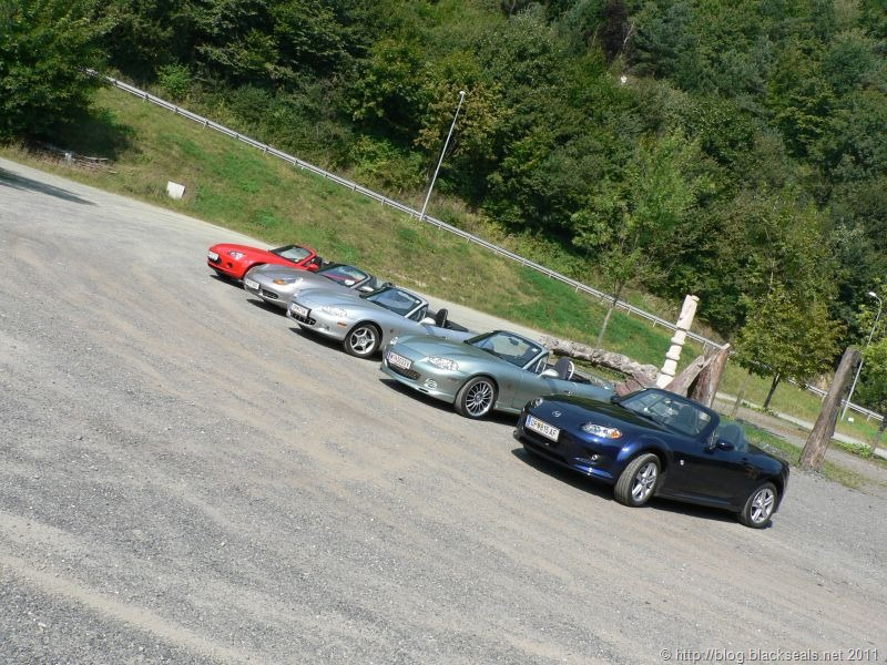 Read more about the article 1. ]B[ Roadster Tour: ab zum Fotoshooting