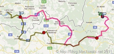 Read more about the article Autumn Spirit 2011: die Route