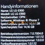 LG Optimus 7: die Firmware-Updates