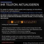 Samsung Omnia 7: Exchange Fehlerbereinigung freigegeben