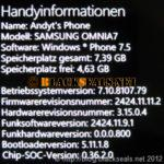 Samsung Omnia 7: neues Samsung Update verfügbar