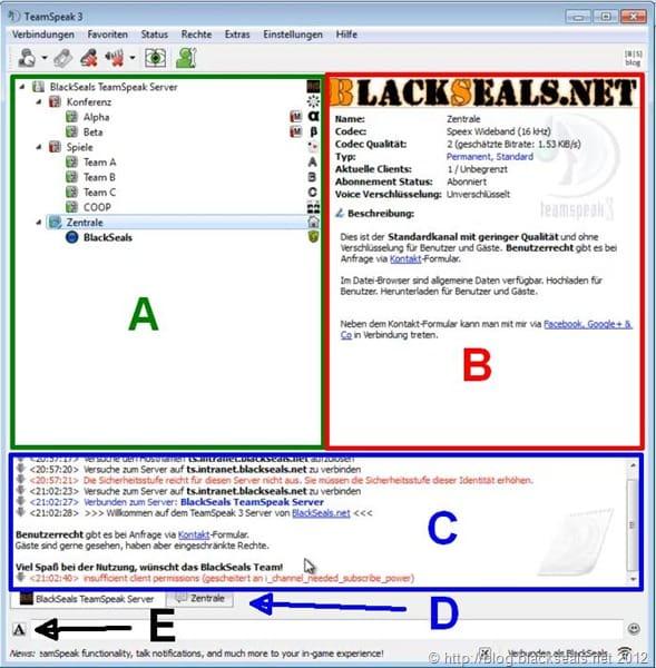 Read more about the article TeamSpeak Client: Überblick, Favoriten und Datei-Browser