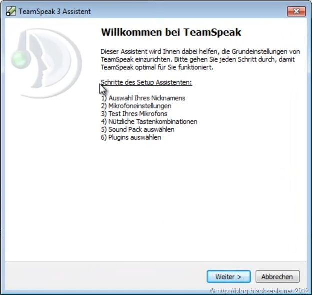Read more about the article TeamSpeak Client: Ersteinrichtung