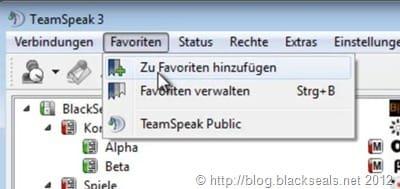 teamspeak_favoriten_hinzufügen