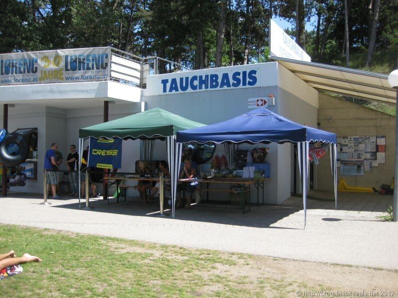 Schatzsuche 2012 von Tauchsport Lorenc am Neufelder See