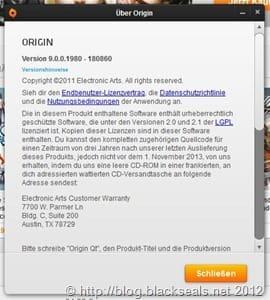 EA Origin: Version 9.0 wird erreicht