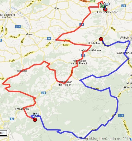 Read more about the article Autumn Spirit 2012: die Route