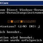 Nach Neustart kommt bei WinMgmt der Fehler 0x80041003