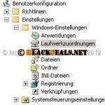 Windows 8: fehlende Netzwerklaufwerke bei Nutzung der Gruppenrichtlinie