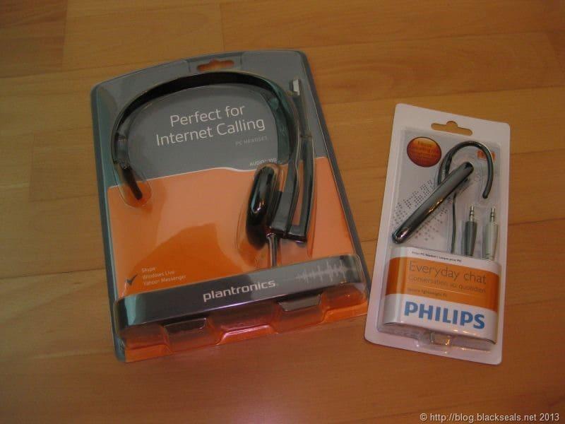 Read more about the article Produktvorstellung: günstige Headsets von Plantronics und Philips