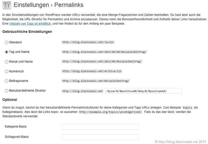 Read more about the article WordPress: Permalinks und Kurzlinks