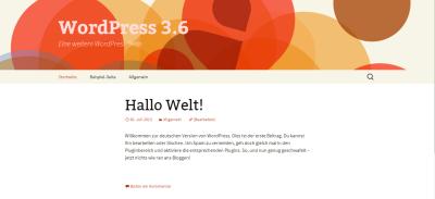 WordPress 3.6 ist verfügbar