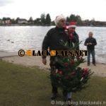 Christbaumversenken 2013 von Tauchsport Lorenc