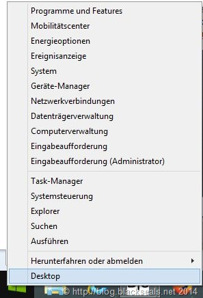 Read more about the article Windows 8.1: Rechtklick auf Startmenü geht nicht