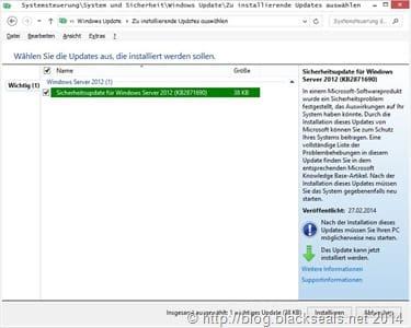 KB2871690 UEFI Update scheitert mit Fehler 800f0922