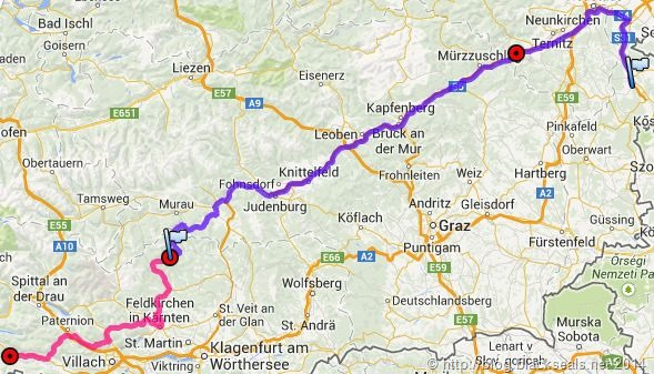 Read more about the article Sommertour 2014: Anreise nach Hermagor