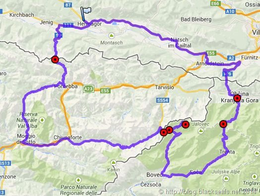 Read more about the article Sommertour 2014: Tag 1, Wurzenpass, Vrsicpass, Predilpass