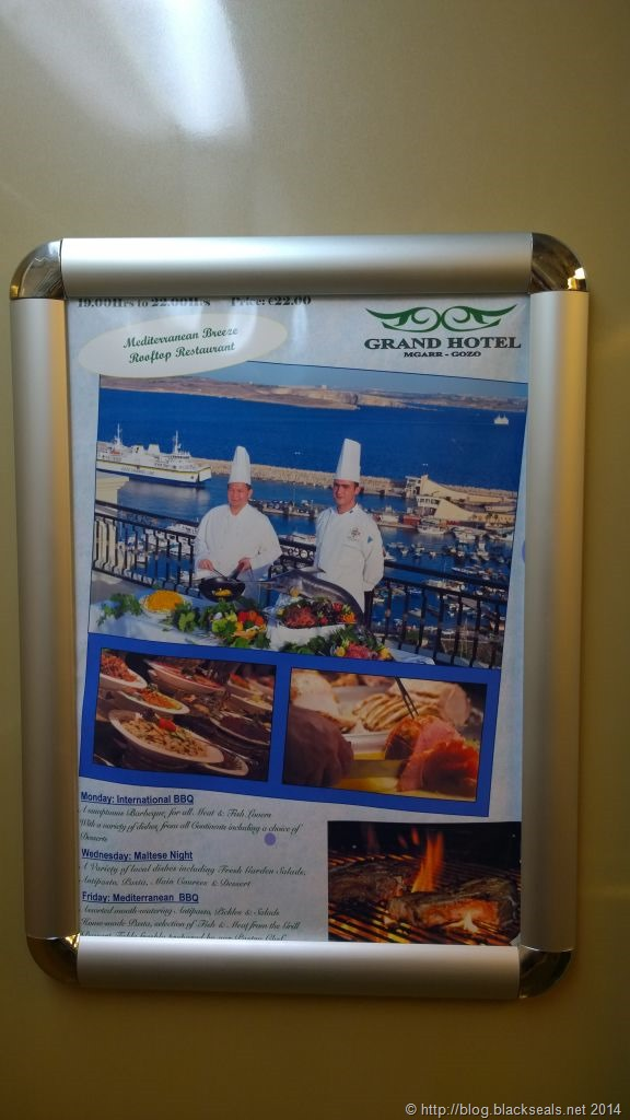 Read more about the article Grand Hotel Gozo Rooftop Restaurant