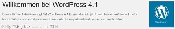 Read more about the article WordPress 4.1 ist verfügbar