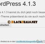 WordPress 4.1.3 & 4.2 verfügbar
