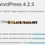 WordPress 4.2.3 & 4.1.6 verfügbar