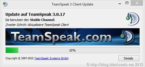 Read more about the article TeamSpeak Client 3.0.17 verfügbar