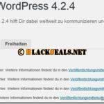 WordPress 4.2.4 verfügbar