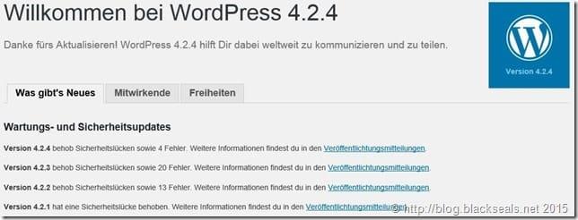 Read more about the article WordPress 4.2.4 verfügbar