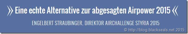 Read more about the article Hinweis zu Airchallenge Styria 2015