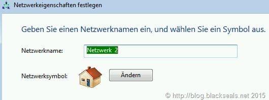 Netzwerknamen unter Windows 8 bearbeiten