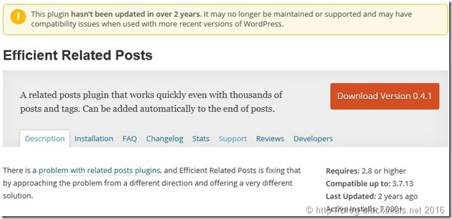 WordPress, PHP7 und Efficient Related Posts