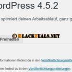 WordPress 4.5.2 und 4.4.3 verfügbar