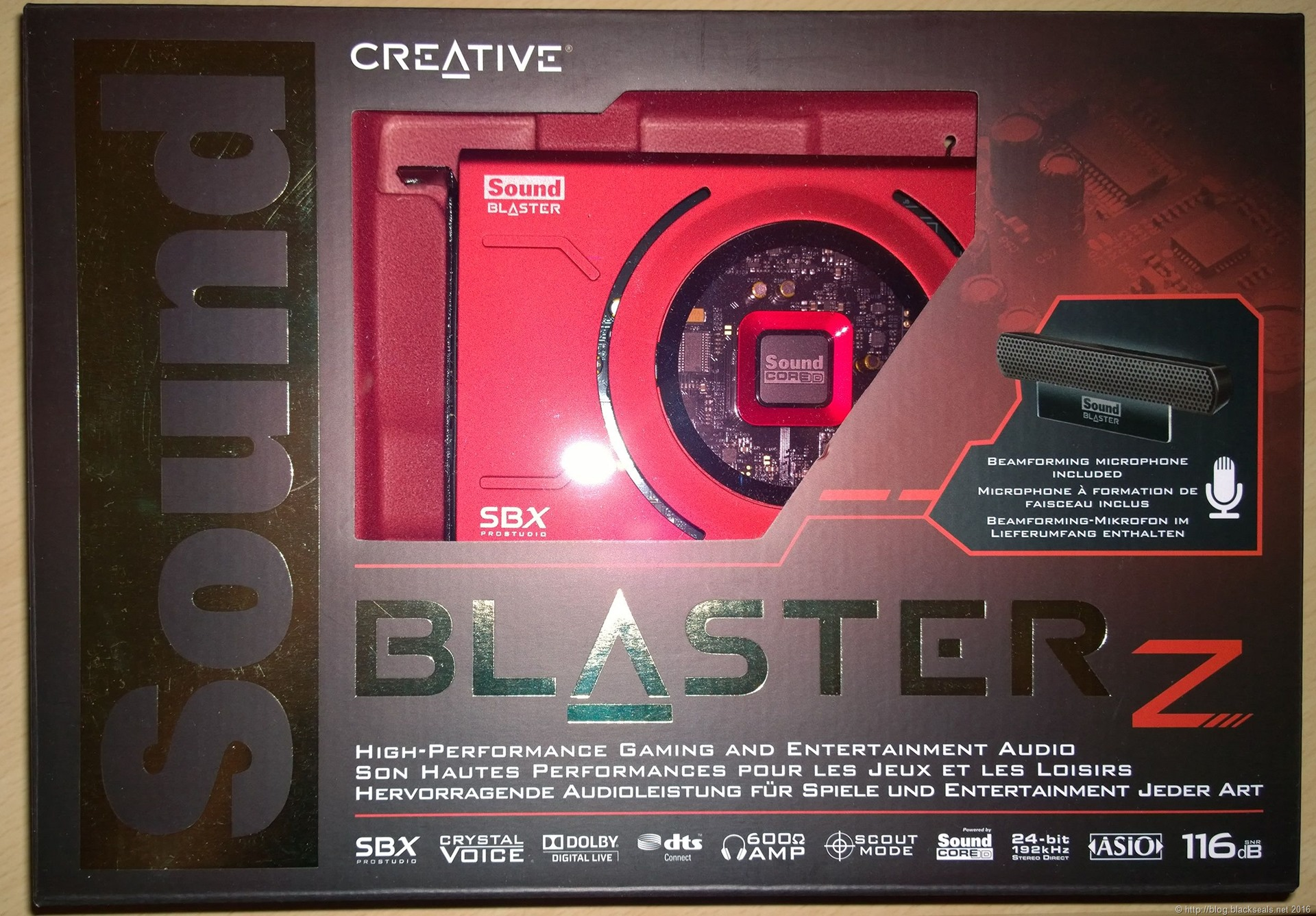 Read more about the article Kurztest der Creative Sound Blaster Z