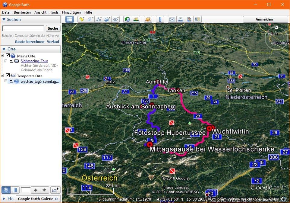 Read more about the article Wachau Roadster-Tour 2016: Artikel und Routen als Download sind fertig *Update*