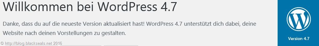 Read more about the article WordPress 4.7 ist da