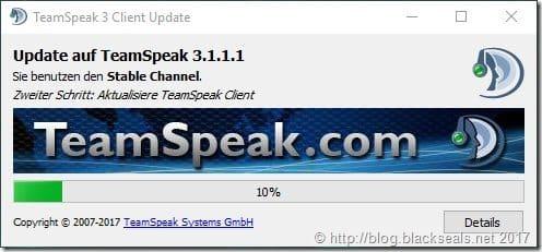 TeamSpeak Client 3.1.1.1 erschienen