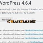 WordPress 4.7.3 und 4.6.4 ist da
